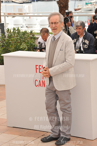 Cannes Jury President Steven Spielberg at the photocall for the Jury of the 66th Festival de Cannes..May 15, 2013  Cannes, France.Picture: Paul Smith / Featureflash