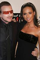 Bono & Alicia Keys<br /> 2007<br /> Photo By John Barrett/CelebrityArchaeology.com
