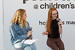 Child models talk during the petiteTALKS panel discussion on at the Javits Center in New York City on January 07, 2018.