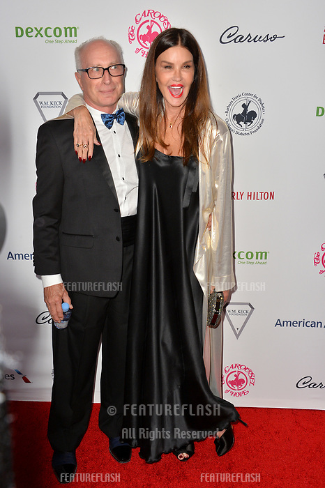 LOS ANGELES, CA. October 06, 2018: Robert Gerner &amp; Janice Dickinson at the 2018 Carousel of Hope Ball at the Beverly Hilton Hotel.<br /> Picture: Paul Smith/Featureflash