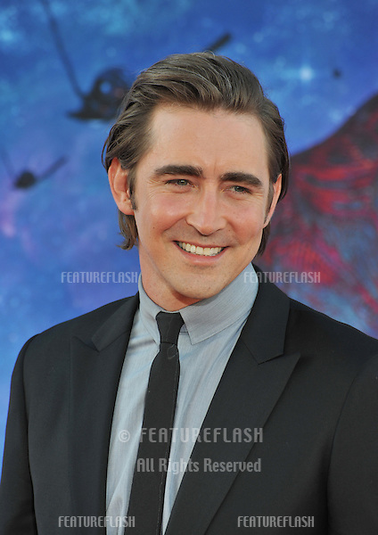 Lee Pace at the world premiere of his movie &quot;Guardians of the Galaxy&quot; at the El Capitan Theatre, Hollywood.<br /> July 21, 2014  Los Angeles, CA<br /> Picture: Paul Smith / Featureflash
