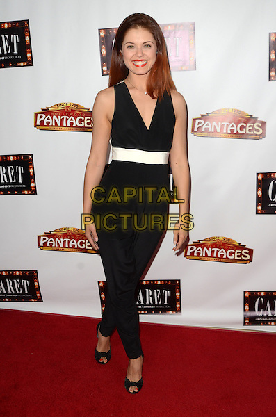 HOLLYWOOD, CA - JULY 20: Anna Trebunskaya at the opening of 'Cabaret' at the Pantages Theatre on July 20, 2016 in Hollywood, California. <br /> CAP/MPI/DE<br /> &copy;DE/MPI/Capital Pictures