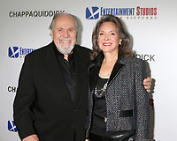 "LOS ANGELES - MAR 28:  George Schlatter, Jolene Schlatter at the ""Chappaquiddick"" Premiere at Samuel Goldwyn Theater on March 28, 2018 in Beverly Hills, CA"