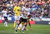 Bolton Wanderers' Erhun Oztumer rues a near miss<br /> <br /> Photographer Andrew Kearns/CameraSport<br /> <br /> The EFL Sky Bet Championship - Bolton Wanderers v Blackburn Rovers - Saturday 6th October 2018 - University of Bolton Stadium - Bolton<br /> <br /> World Copyright © 2018 CameraSport. All rights reserved. 43 Linden Ave. Countesthorpe. Leicester. England. LE8 5PG - Tel: +44 (0) 116 277 4147 - admin@camerasport.com - www.camerasport.com