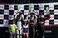 IMSA Porsche GT3 Cup Challenge USA<br /> Road Atlanta<br /> Road Atlanta, Braselton GA<br /> Friday 6 October 2017<br /> IMSA Porsche GT3 Cup Challenge USA, Race 2, Platinum Podium<br /> World Copyright: Jake Galstad<br /> LAT Images