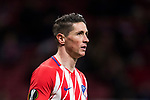 Fernando Torres of Atletico de Madrid looks on during the UEFA Europa League 2017-18 Round of 32 (2nd leg) match between Atletico de Madrid and FC Copenhague at Wanda Metropolitano  on February 22 2018 in Madrid, Spain. Photo by Diego Souto / Power Sport Images