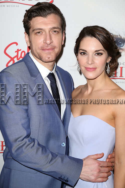 Tam Mutu and Kelli Barrett attends the Broadway Opening Night After Party for 'Doctor Zhivago' at Rockefeller Center on April 21, 2015 in New York City.