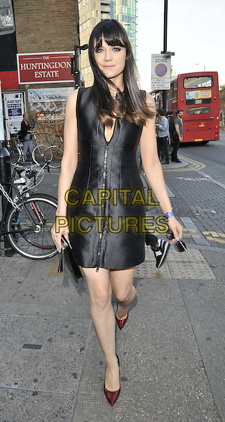 LONDON, ENGLAND - JULY 17: Lilah Parsons attends the Warner Music Group &amp; GQ 2014 summer party, Shoreditch House, Ebor St., on Thursday July 17, 2014 in London, England, UK.<br /> CAP/CAN<br /> &copy;Can Nguyen/Capital Pictures
