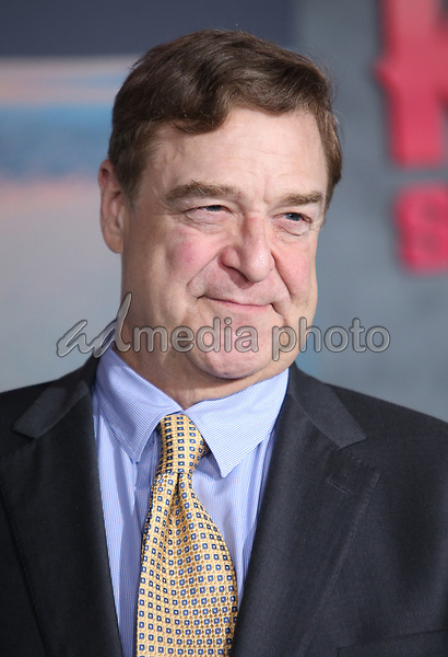 "08 March 2017 - Hollywood, California - John Goodman. ""Kong: Skull Island"" Los Angeles Premiere held at Dolby Theatre. Photo Credit: AdMedia"
