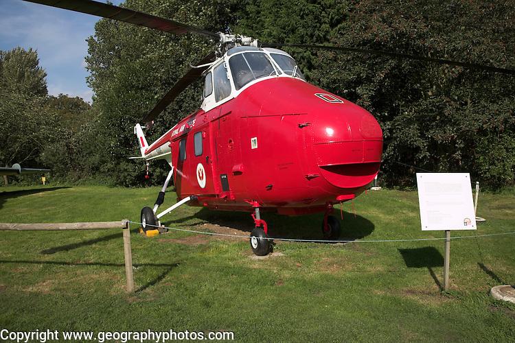 Westland Whirlwind HAR.10 helicopter Norfolk  Suffolk aviation museum Flixton Bungay England.