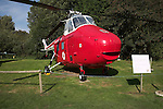 Westland Whirlwind HAR.10 helicopter Norfolk  Suffolk aviation museum Flixton Bungay England.