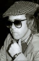 Elton John at Studio 54 1977<br /> Photo By Adam Scull/PHOTOlink.net