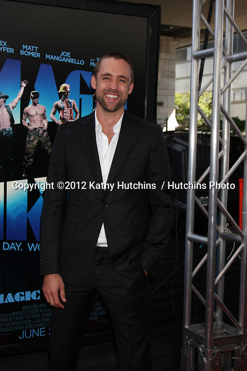 "LOS ANGELES - JUN 24:  Reid Carolin arrives at the ""Magic Mike"" LAFF Premiere at Regal Cinema at LA Live on June 24, 2012 in Los Angeles, CA"