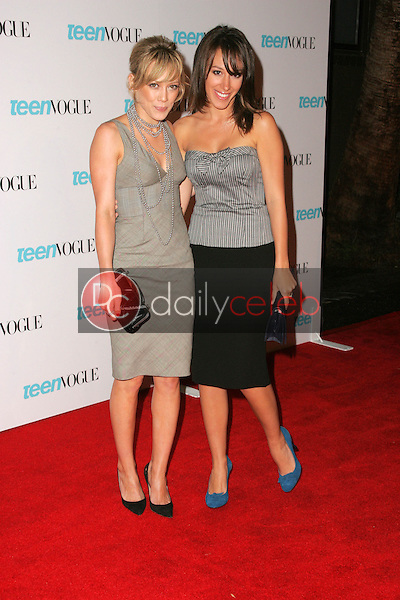 Hilary Duff and Haylie Duff<br />