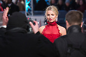 London, UK. 14 February 2016. English actress Annabelle Wallis. Red carpet arrivals for the 69th EE British Academy Film Awards, BAFTAs, at the Royal Opera House. © Vibrant Pictures/Alamy Live News