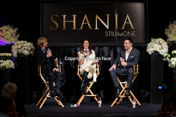 """Shania Twain """"Still The One"""" Residency Show Press Conference at Caesars Palace on November 30, 2012 in Las Vegas, Nevada. Shania Twain 'Still The One' premiere will be December 1, 2012 at The Colosseum at Caesars Palace ..Credit: MediaPunch/face to face..- Germany, Austria, Switzerland, Eastern Europe, Australia, UK, USA, Taiwan, Singapore, China, Malaysia and Thailand rights only -"""