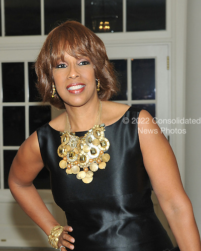 Washington, D.C. - November 24, 2009 --  Gayle King arrives for the State Dinner in honor of  Dr. Manmohan Singh, Prime Minister of India at the White House in Washington, D.C. on Tuesday, November 24, 2009..Credit: Ron Sachs / CNP.(RESTRICTION: NO New York or New Jersey Newspapers or newspapers within a 75 mile radius of New York City)