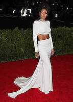 "NEW YORK CITY, NY, USA - MAY 05: Rihanna at the ""Charles James: Beyond Fashion"" Costume Institute Gala held at the Metropolitan Museum of Art on May 5, 2014 in New York City, New York, United States. (Photo by Xavier Collin/Celebrity Monitor)"