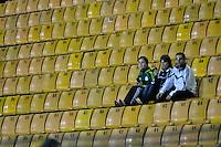 SAO PAULO, SP, 01 DE FEVEREIRO DE 2012 - CAMPEONATO PAULISTA - PALMEIRAS x MOGI MIRIM - Pouca torcida  durante partida valida pela quarta rodada do Campeonato Paulista no estadio Paulo Machado de Carvalho (Pacaembu), região oeste da capital paulista. (FOTO: LEVI BIANCO - NEWS FREE)