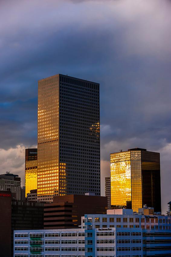 Office buildings, Downtown Denver, Colorado USA.