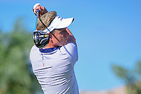 Luke Donald (GBR) watches his tee shot on 13 during round 1 of the Honda Classic, PGA National, Palm Beach Gardens, West Palm Beach, Florida, USA. 2/23/2017.<br /> Picture: Golffile | Ken Murray<br /> <br /> <br /> All photo usage must carry mandatory copyright credit (&copy; Golffile | Ken Murray)