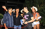 Naked Cowboys and Randy Jones (Village People) and husband Will Grega and actor Keith Collins celebrate their marriage (this morning September 13, 2013) with a celebration at the 13th Annual Kings & Cowboys at DL in New York City, New York. Randy is also celebrating his birthday.  (Photo by Sue Coflin/Max Photos)