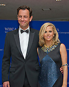 Designer Tory Burch, right, and Pierre-Yves Roussel arrive for the 2016 White House Correspondents Association Annual Dinner at the Washington Hilton Hotel on Saturday, April 30, 2016.<br /> Credit: Ron Sachs / CNP<br /> (RESTRICTION: NO New York or New Jersey Newspapers or newspapers within a 75 mile radius of New York City)