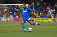 Nesta Guinness-Walker of AFC Wimbledon during AFC Wimbledon vs Wycombe Wanderers, Sky Bet EFL League 1 Football at the Cherry Red Records Stadium on 31st August 2019