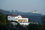 The Griffith Observatory in the Hollywood Hillls