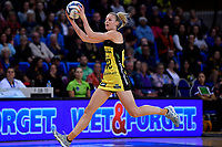 Pulse' Katrina Rore in action during the ANZ Premiership - Pulse v Stars at Te Rauparaha Arena, Porirua, New Zealand on Wednesday 3 April 2019. <br />