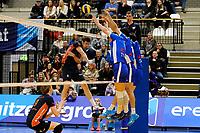 GRONINGEN - Volleybal, Lycurgus - Orion , Eredivisie, seizoen 2018-2019, 13-01-2019, driemaands blok Lycurgus