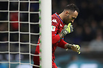 David Ospina of Napoli says a prayer before the start of the second half during the Coppa Italia match at Giuseppe Meazza, Milan. Picture date: 12th February 2020. Picture credit should read: Jonathan Moscrop/Sportimage