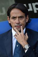 Simone Inzaghi Lazio coach<br /> Roma 10-11-2019 Stadio Olimpico <br /> Football Serie A 2019/2020 <br /> SS Lazio - Lecce<br /> Foto Antonietta Baldassarre / Insidefoto