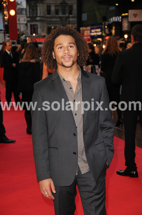 **ALL ROUND PICTURES FROM SOLARPIX.COM**.**WORLDWIDE SYNDICATION RIGHTS**.Guests attend the UK premiere of High School Musical 3 at the Empire cinema in London's Leicester Square this evening. London, UK. 7th October 2008..This pic: Corbin Bleu..JOB REF: 7472 MSR    DATE: 07_10_2008.**MUST CREDIT SOLARPIX.COM OR DOUBLE FEE WILL BE CHARGED* *UNDER NO CIRCUMSTANCES IS THIS IMAGE TO BE REPRODUCED FOR ANY ONLINE EDITION WITHOUT PRIOR PERMISSION*