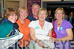 Sheila Healy, Anne Burrows, Henry Burrows, Maire Hanley and Catherine Doolan, Tralee MS, pictured at Kerry Airport on Saturday night for the Kerry MS pilgrimage to Lourdes...   Copyright Kerry's Eye 2008