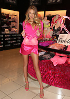 LOS ANGELES, CA - FEBRUARY 7: Romee Strijd pictured as Victoria's Secret celebrates self-love this Valentine's Day at the Beverly Center Victoria's Secret Store Thursday, February 7, 2019 in Los Angeles, California. <br /> CAP/MPIFS<br /> ©MPIFS/Capital Pictures
