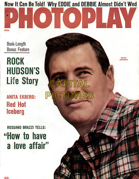 Rock Hudson, photoplay.*Filmstill - Editorial Use Only*.CAP/PLF.Supplied by Capital Pictures.