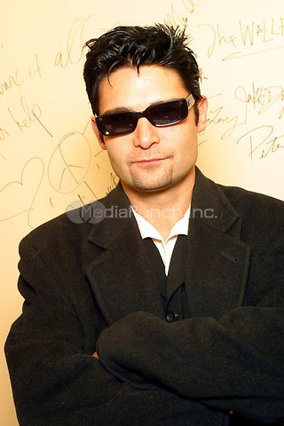 "Corey Feldman photographed in Philadelphia, PA.  November 25, 2003.   Feldman currently starred in the reality TV show ""The SurrealLife.""  © Scott Weiner /MediaPunch."