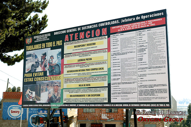 Billboard At Border