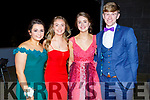 Ailbhe Mangan, Dakota Carter O'Flynn, Laura Egan and Jack Dolan enjoying the Mercy Mounthawk Debs in the Ballyroe Heights Hotel on Thursday night.