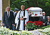 """ROBIN GIBB FUNERAL.Robin who died after a lon-running battle with cancer aged 62, was buried at St. mary's Church , Thame, Oxfordshire..Brother Barry Gibb,65, the last surviving member of the Bee Gees was joined by family members for the funeral service..Celebrity guests who attended the funeral included Peter Andre, Tim Rice, Susan George and Leslie Phillips_08/06/2012.Mandatory Credit Photo: ©NEWSPIX INTERNATIONAL..**ALL FEES PAYABLE TO: """"NEWSPIX INTERNATIONAL""""**..IMMEDIATE CONFIRMATION OF USAGE REQUIRED:.Newspix International, 31 Chinnery Hill, Bishop's Stortford, ENGLAND CM23 3PS.Tel:+441279 324672  ; Fax: +441279656877.Mobile:  07775681153.e-mail: info@newspixinternational.co.uk"""