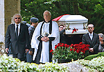 "ROBIN GIBB FUNERAL.Robin who died after a lon-running battle with cancer aged 62, was buried at St. mary's Church , Thame, Oxfordshire..Brother Barry Gibb,65, the last surviving member of the Bee Gees was joined by family members for the funeral service..Celebrity guests who attended the funeral included Peter Andre, Tim Rice, Susan George and Leslie Phillips_08/06/2012.Mandatory Credit Photo: ©NEWSPIX INTERNATIONAL..**ALL FEES PAYABLE TO: ""NEWSPIX INTERNATIONAL""**..IMMEDIATE CONFIRMATION OF USAGE REQUIRED:.Newspix International, 31 Chinnery Hill, Bishop's Stortford, ENGLAND CM23 3PS.Tel:+441279 324672  ; Fax: +441279656877.Mobile:  07775681153.e-mail: info@newspixinternational.co.uk"
