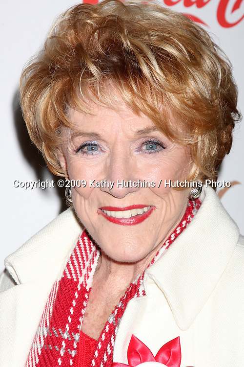 Jeanne Cooper .arriving at the 2009 Hollywood Christmas Parade .Hollywood Roosevelt Hotel.Los Angeles,  CA.November 29, 2009.©2009 Kathy Hutchins / Hutchins Photo.
