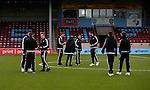 Sheffield Utd players arrive - English League One - Scunthorpe Utd vs Sheffield Utd - Glandford Park Stadium - Scunthorpe - England - 19th December 2015 - Pic Simon Bellis/Sportimage