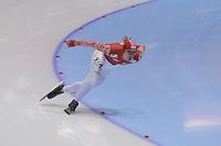 SCHAATSEN: HEERENVEEN: IJsstadion Thialf, 17-11-2012, Essent ISU World Cup, Season 2012-2013, Men 1000 meter Division A, Dmitry Lobkov (RUS), ©foto Martin de Jong