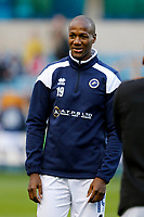 Tom Elliott of Millwall seen during the Sky Bet Championship match between Millwall and Birmingham City at The Den, London, England on 21 October 2017. Photo by Carlton Myrie.