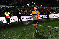 Robbie Willmott of Newport County at full time during the FA Cup Fourth Round Replay match between Newport County and Middlesbrough at Rodney Parade in Newport, Wales, UK. Tuesday 05 February 2019