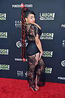 Cynthia LuCiette bei Kevin Hart's 'Laugh out Loud' Launch Event auf dem Goldstein Anwesen. Los Angeles, 03.08.2017