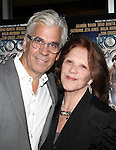 Broadway Star Linda Lavin & husband Steve Bakunas.attending  a screening of 'Rock Of Ages' at the Regal E-Walk Stadium Theaters in New York City on June 11, 2012.