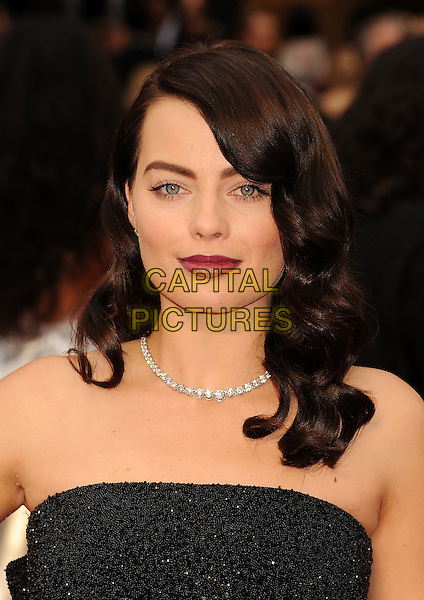 HOLLYWOOD, CA- MARCH 02: Actress Margot Robbie attends the 86th Annual Academy Awards held at Hollywood &amp; Highland Center on March 2, 2014 in Hollywood, California.<br /> CAP/ROT/TM<br /> &copy;Tony Michaels/Roth Stock/Capital Pictures